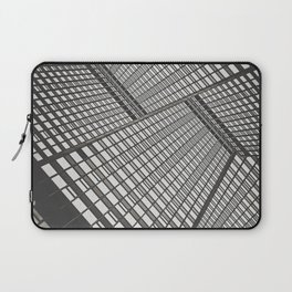 Sky scrapers blocking out the sky Laptop Sleeve