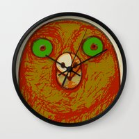 pigeon Wall Clocks featuring Pigeon by RifKhas