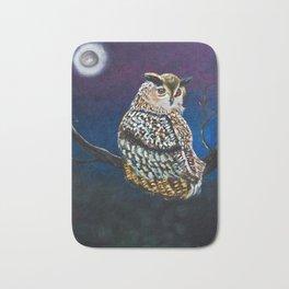 Owl Coat - Ugla Skyrta Bath Mat