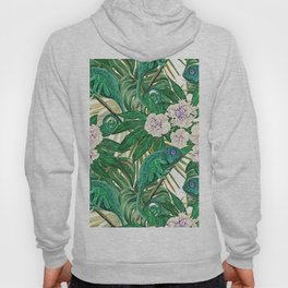 Chameleons and Camellias Hoody