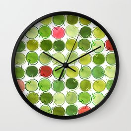 An Apple a Day... Wall Clock