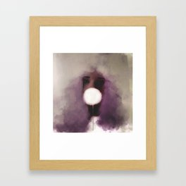 Cotton Candy v1 Framed Art Print
