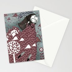 Clouds in July, Raindrop Sky Stationery Cards