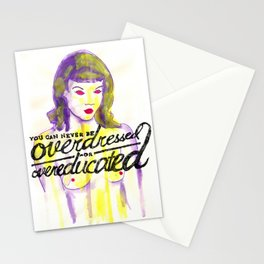 Overdressed Stationery Cards