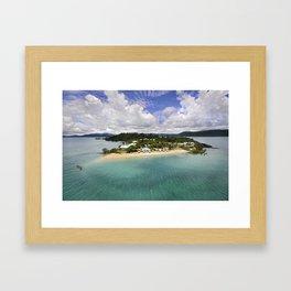 Day Dream Island QLD Framed Art Print