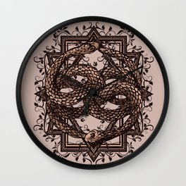 Life Is A NeverEnding Story Wall Clock