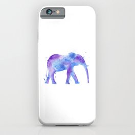 Watercolor Elephant iPhone Case