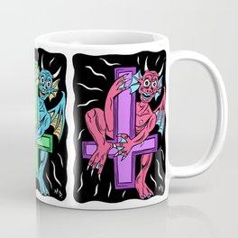 Satanic Devil/Saint Peter's Cross Coffee Mug