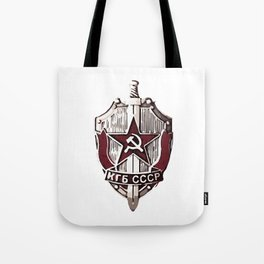 KGB Badge Tote Bag