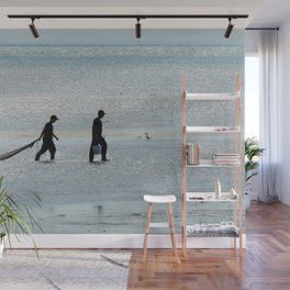 Treasure Hunters at Sea Wall Mural