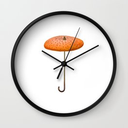 Mushroom-umbrella Wall Clock