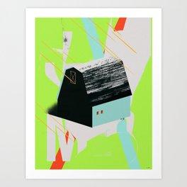 JOMO BARN Art Print