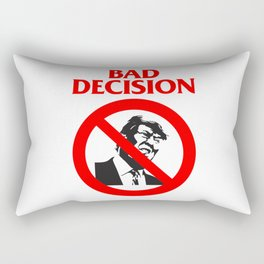 Bad Decision Rectangular Pillow
