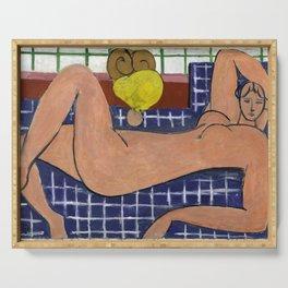 Henri Matisse Large Reclining Nude (Pink Nude) 1935 , Artwork Design, Poster Tshirt, Tee, Jersey, Po Serving Tray