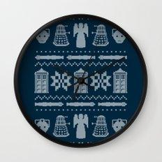 Who's Sweater Wall Clock