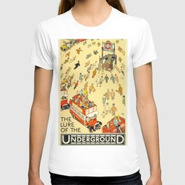 The Lure Of The Underground T-shirt