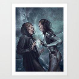 Clexa Art Print