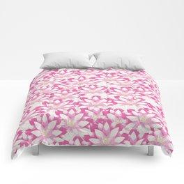 Lotus flower pattern Comforters