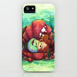 The Littlest Mermaid iPhone Case