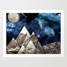 Paper dreams Art Print