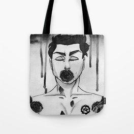 Black Roses - Dean Winchester Tote Bag