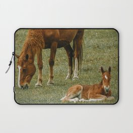 Horse And Foal Laptop Sleeve