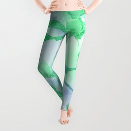 Abstract Flow I Leggings