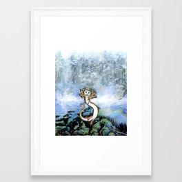 Owlmander Framed Art Print