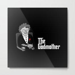 The Godmother Metal Print