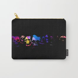 Color Skulls Carry-All Pouch