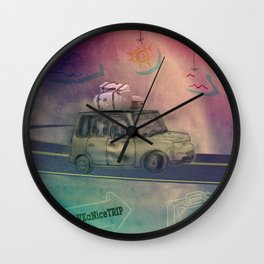 Have a nice trip Wall Clock