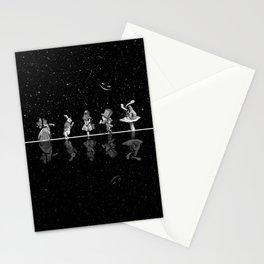 Wonderland Starry Night - Alice In Wonderland Stationery Cards