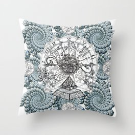GEOMETRYS Throw Pillow
