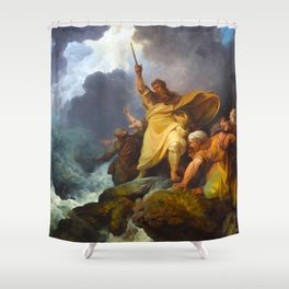 The Destruction of Pharaoh's Army (1792) Shower Curtain