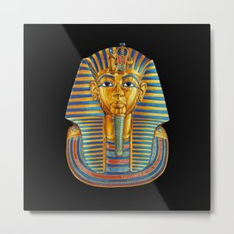 King Tut Metal Print