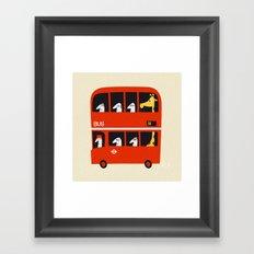 A tall passenger 2 Framed Art Print