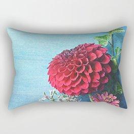 Summer Always Bloomed in Her Heart Rectangular Pillow