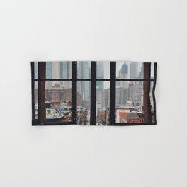New York City Window Hand & Bath Towel