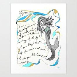 Gypsea Art Print