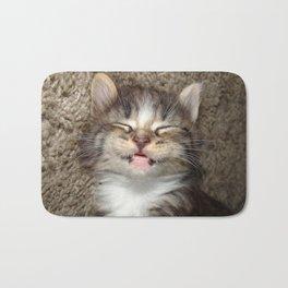 Kitten Smile Bath Mat
