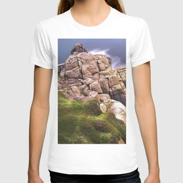 View From The Minack Theatre, Porthcurno, Cornwall, England, United Kingdom T-shirt