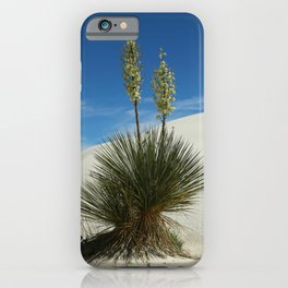Soap Yucca In The White Sands Dunes iPhone Case