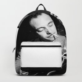 Django Reinhardt at the Aquarium Jazz Club Backpack