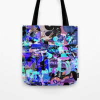 comics Tote Bags featuring comics by Trent Call