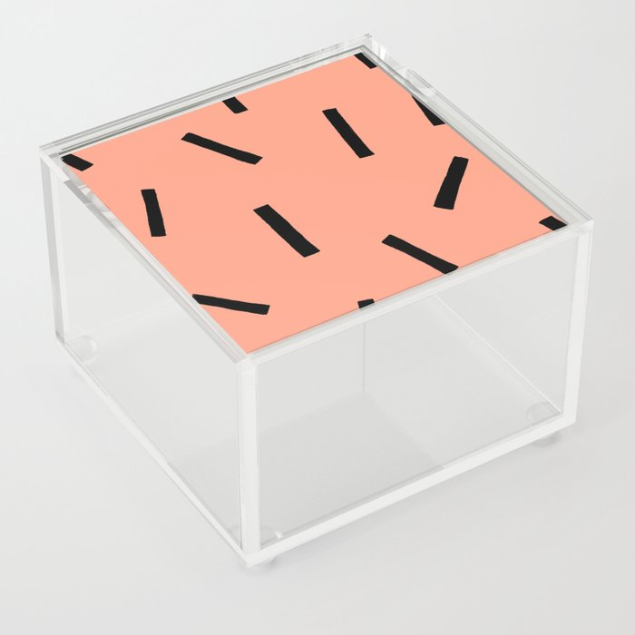 Confetti Sprinkles Acrylic Box by chachishop