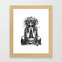 Jealousy Framed Art Print