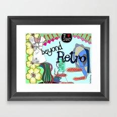 Beyond Retro Framed Art Print