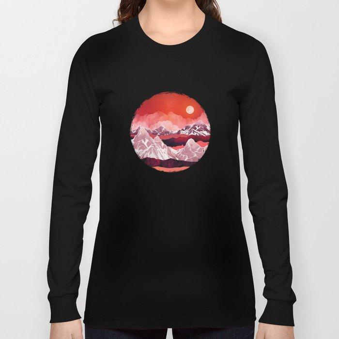 Scarlet Glow Long Sleeve T-shirt
