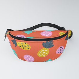 Pineapple Party – Red & Pink Palette Fanny Pack