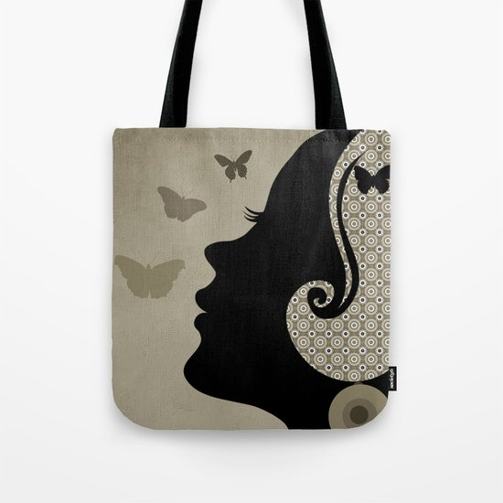 madame butterfly (II) Tote Bag